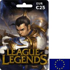 League of Legends EUW EUR 25€ en Tunisie