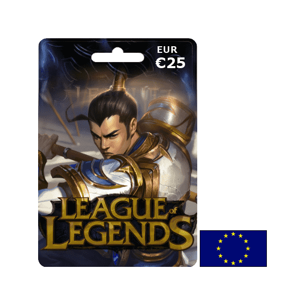 League of Legends EUW EUR 25€ - Gift Cards - gamezone