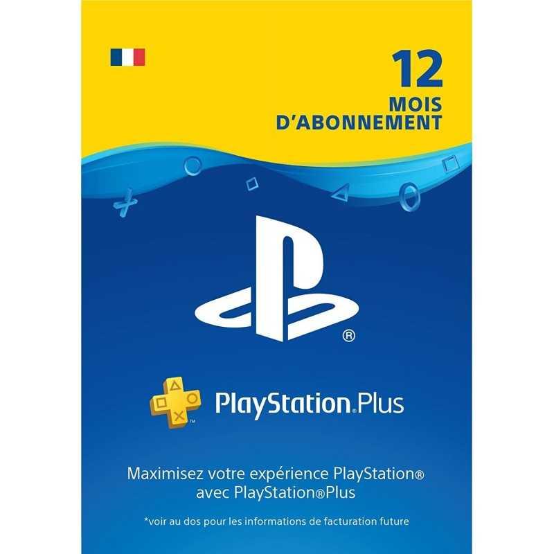 PlayStation Plus: abonnement de 12 mois Compte français - CARTES PSN - gamezone