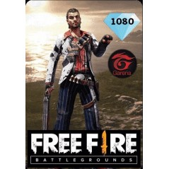 Free Fire MENA 1080 Diamonds en Tunisie