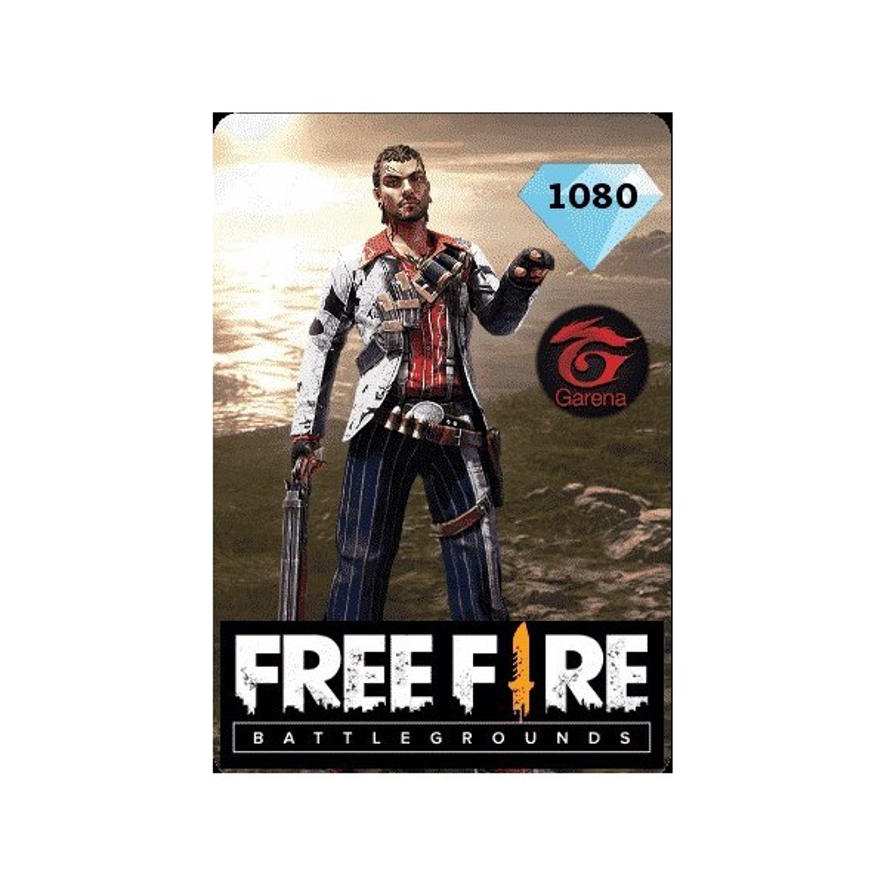 Free Fire MENA 1080 Diamonds - Gift Cards - gamezone