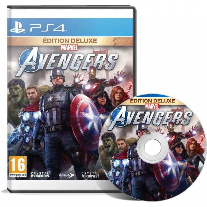 Marvel's Avengers Edition Deluxe PS4 - JEUX PS4 - gamezone