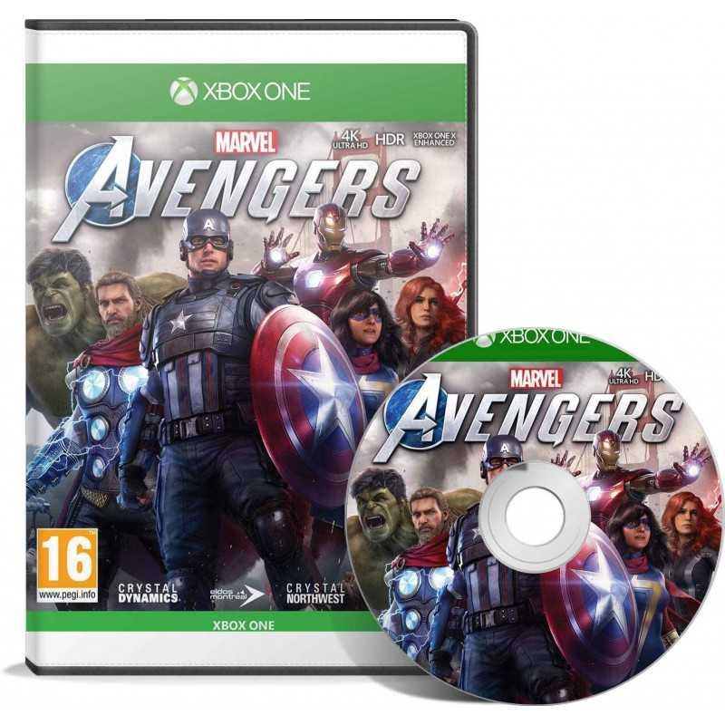 Marvel's Avengers (Xbox One) - JEUX XBOX ONE - gamezone