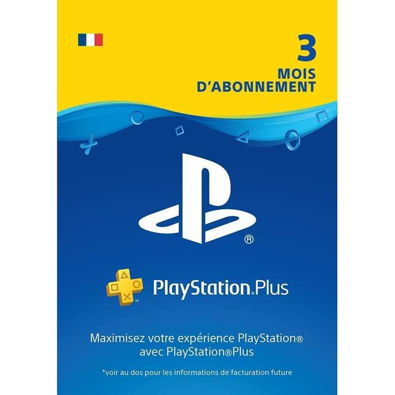 PlayStation Plus: abonnement de 03 mois Compte français en Tunisie