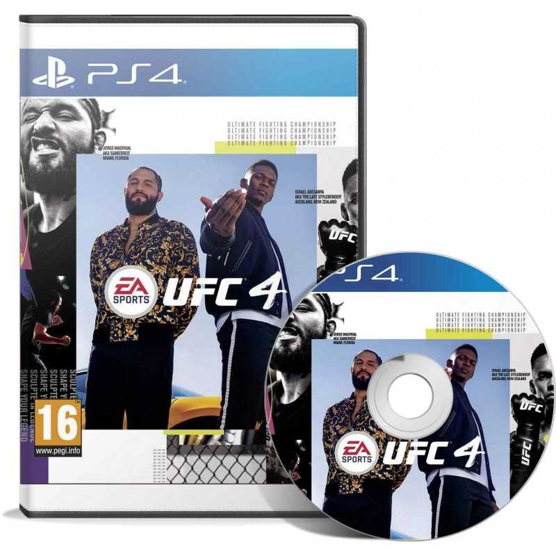 EA Sports UFC 4 PS4 - JEUX PS4 - gamezone