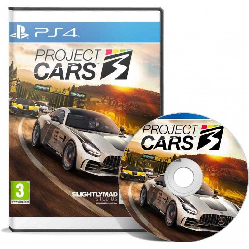 Project Cars 3 (PS4) en Tunisie