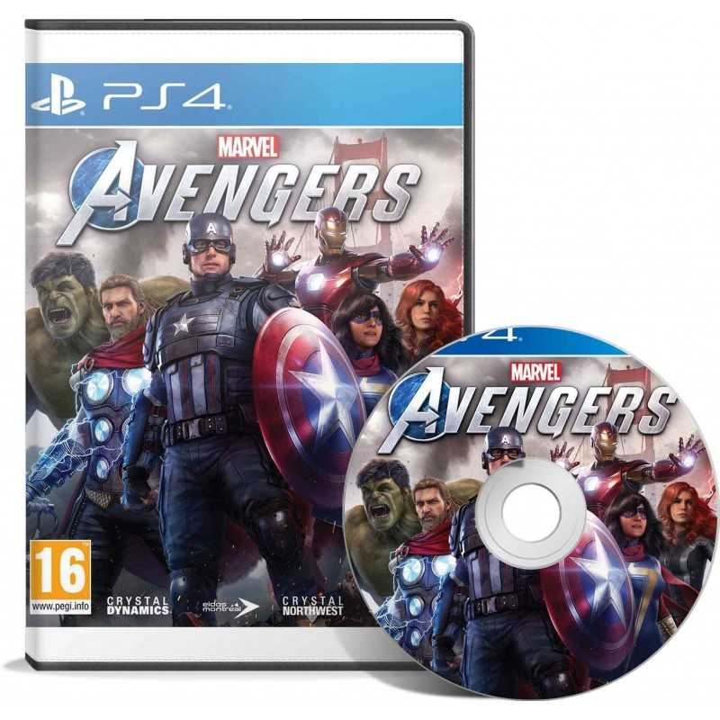 Marvel's Avengers PS4 - JEUX PS4 - gamezone
