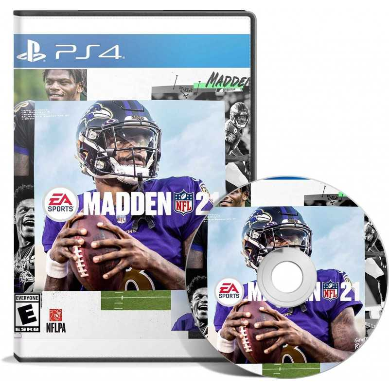 Madden Nfl 21 (PS4) - JEUX PS4 - gamezone