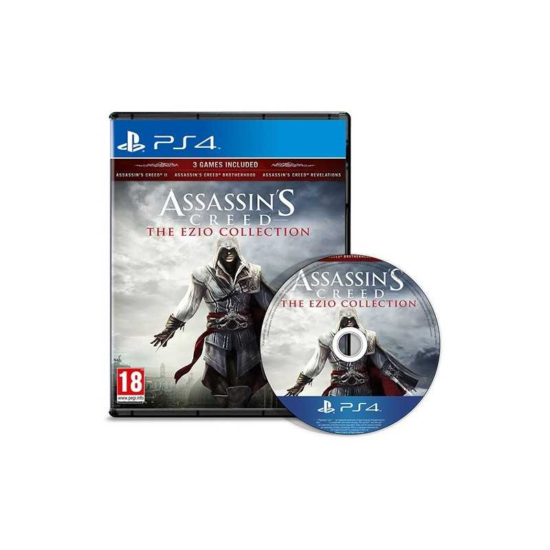 Assassin's Creed : Ezio Collection - JEUX PS4 - gamezone