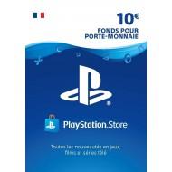 Carte PSN 10 EUR Playstation Store PS5/PS4/PS3/PS Vita Compte français en Tunisie