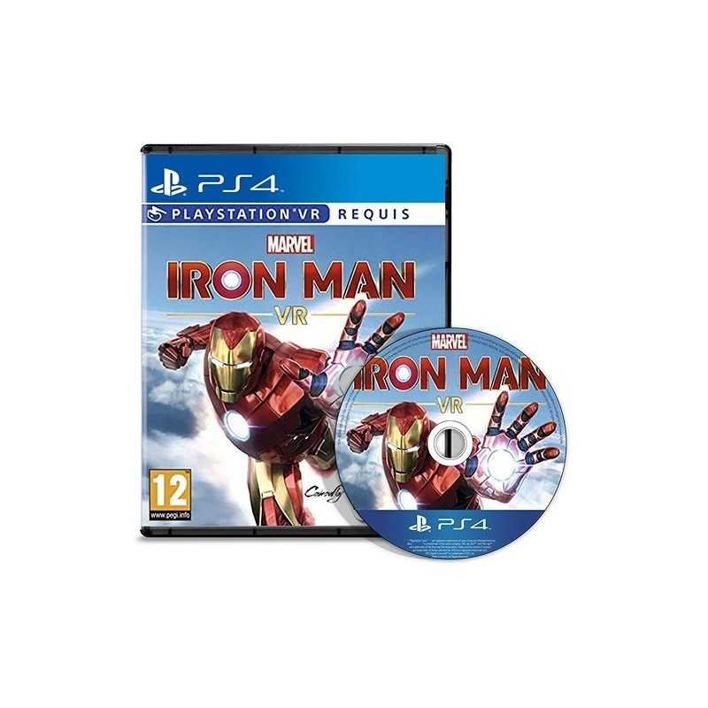 Marvel's Iron Man PS4 VR - JEUX PS4 - gamezone