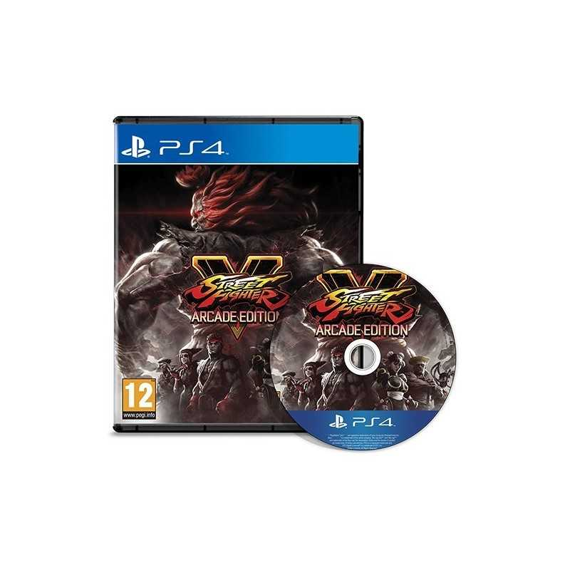 Street Fighter V Arcade Edition PS4 - JEUX PS4 - gamezone
