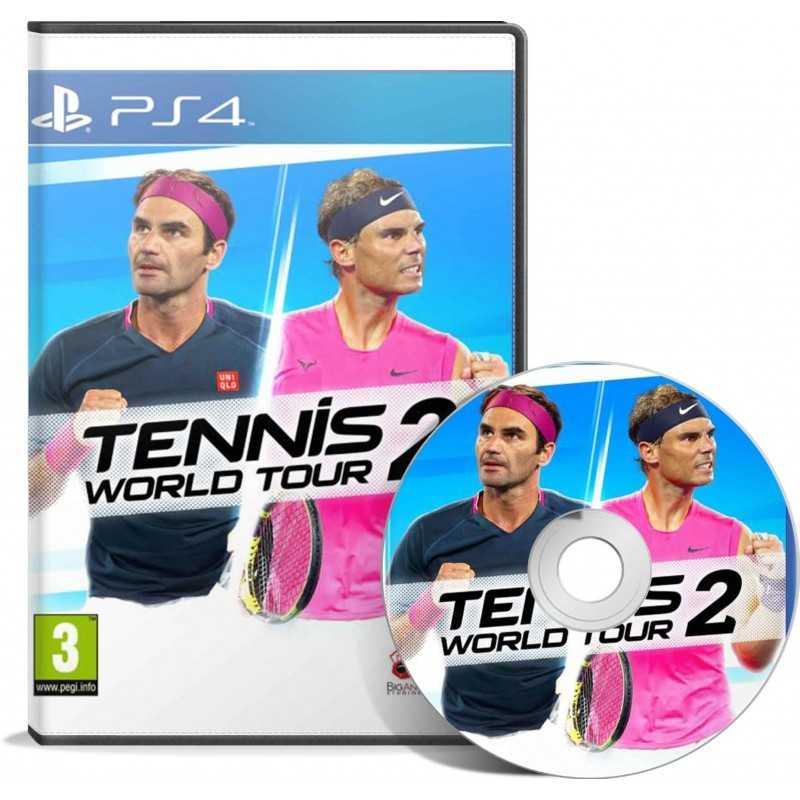 Tennis World Tour 2 PS4 - JEUX PS4 - gamezone