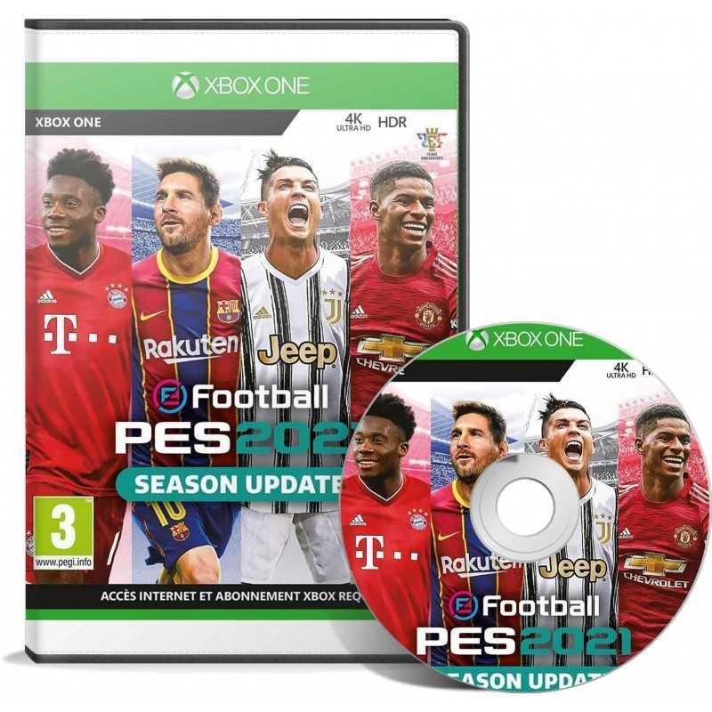 Efootball Pes 2021 (XBOX) Francais - JEUX XBOX ONE - gamezone