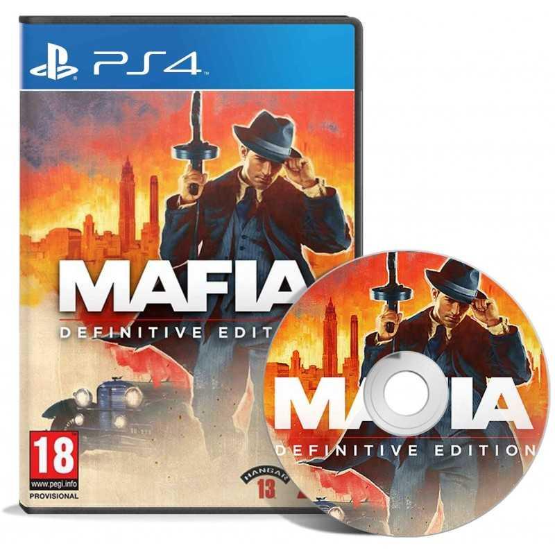 Mafia Définitive Edition PS4 - JEUX PS4 - gamezone