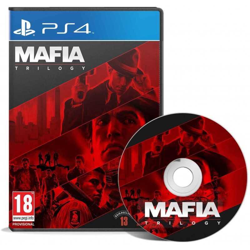 Mafia : Trilogy PS4 - JEUX PS4 - gamezone