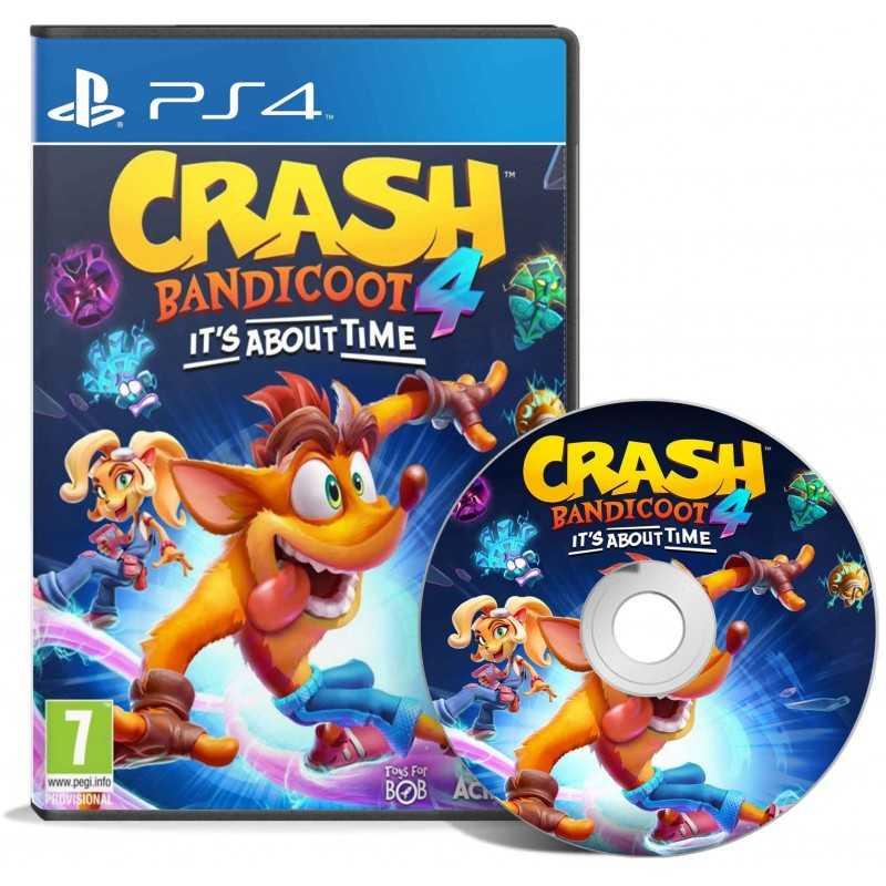 Crash Bandicoot 4: It's About Time! PS4 - JEUX PS4 - gamezone