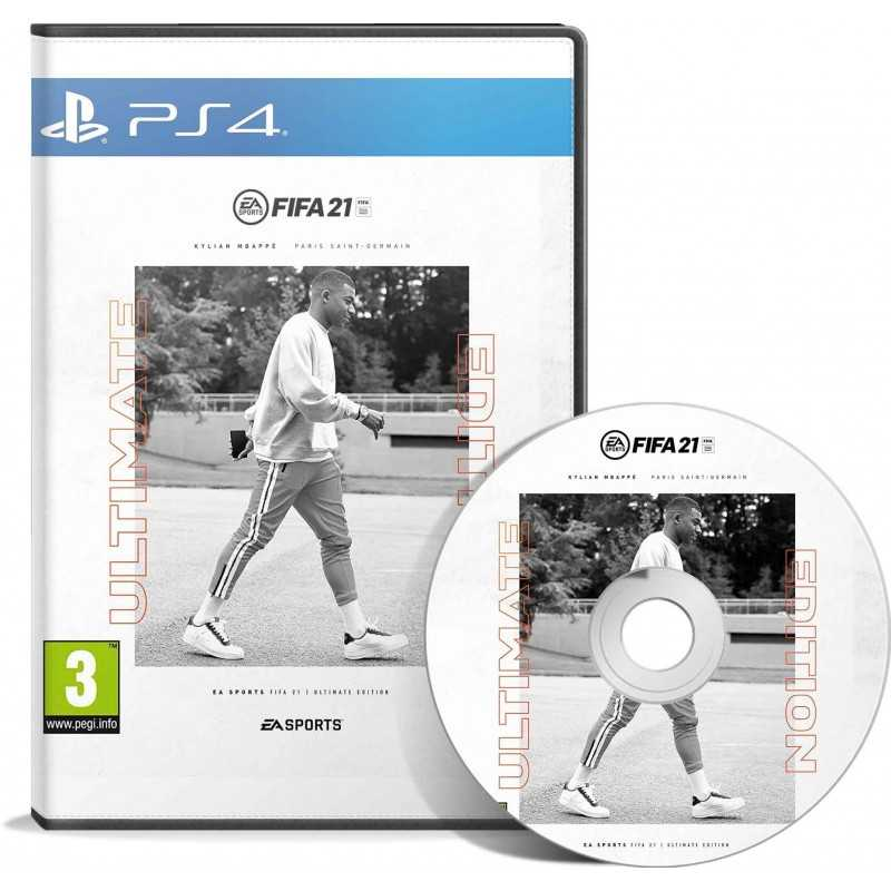 FIFA 21 Ultimate Edition (PS4 & Version PS5 incluse) حصري بالتعليق العربي - JEUX PS4 - gamezone