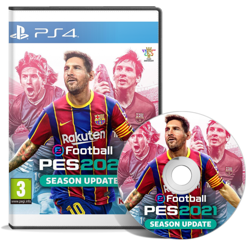 eFootball PES 2021 (PS4) Arabic - English حصري بالتعليق العربي - JEUX PS4 - gamezone