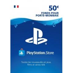 Carte PSN 50 EUR Playstation Store PS4/PS3/PS Vita Compte français en Tunisie
