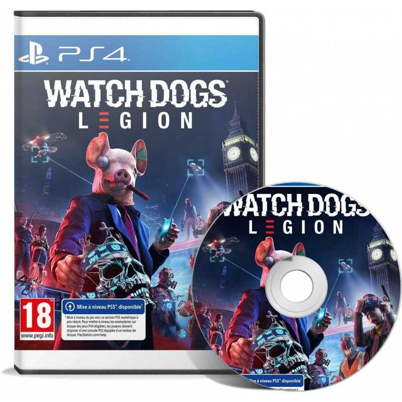 Watch Dogs Legion PS4 - JEUX PS4 - gamezone