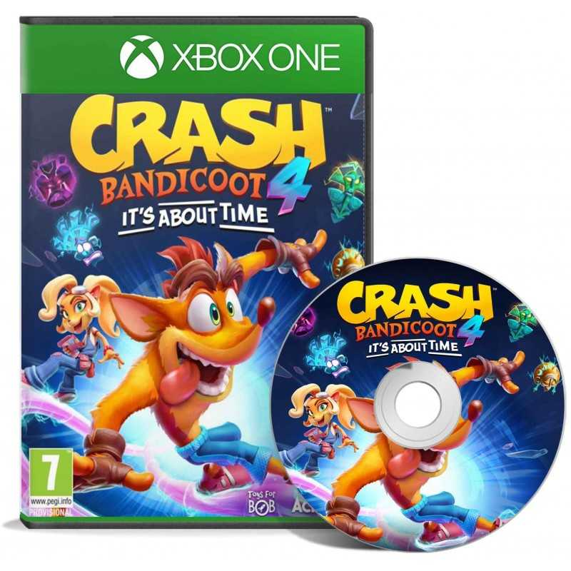 Crash Bandicoot 4: It's About Time! XBOX ONE - JEUX XBOX ONE - gamezone