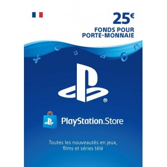 Carte PSN 25 EUR...
