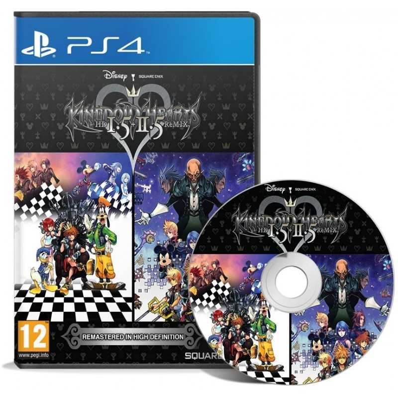 Kingdom Hearts Hd 1.5 + 2.5 Remix - JEUX PS4 - gamezone
