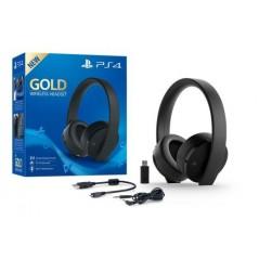 Casque PS4 sans fil - Gold Edition Noire en Tunisie
