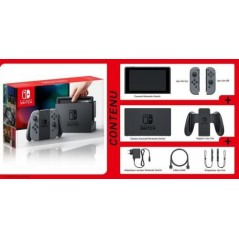 Console Nintendo Switch avec une paire de Joy-Con Gris en Tunisie