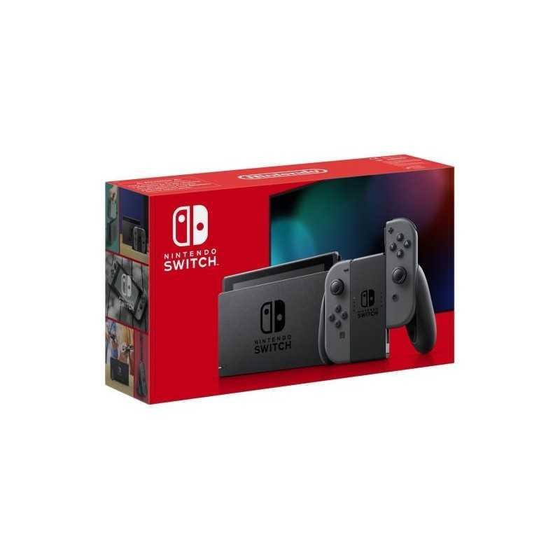 Console Nintendo Switch avec une paire de Joy-Con Gris - Console - gamezone