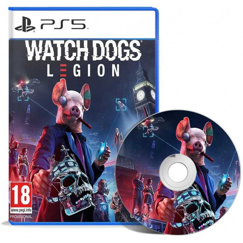 Watch Dogs Legion PS5 - JEUX PS5 - gamezone