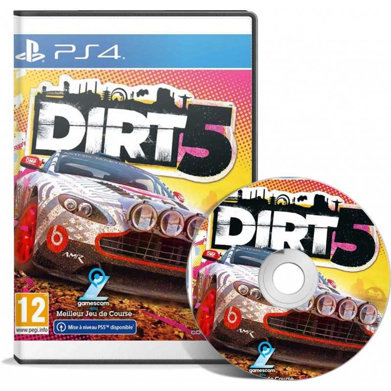 DIRT 5 Edition Standard PS4 - JEUX PS4 - gamezone