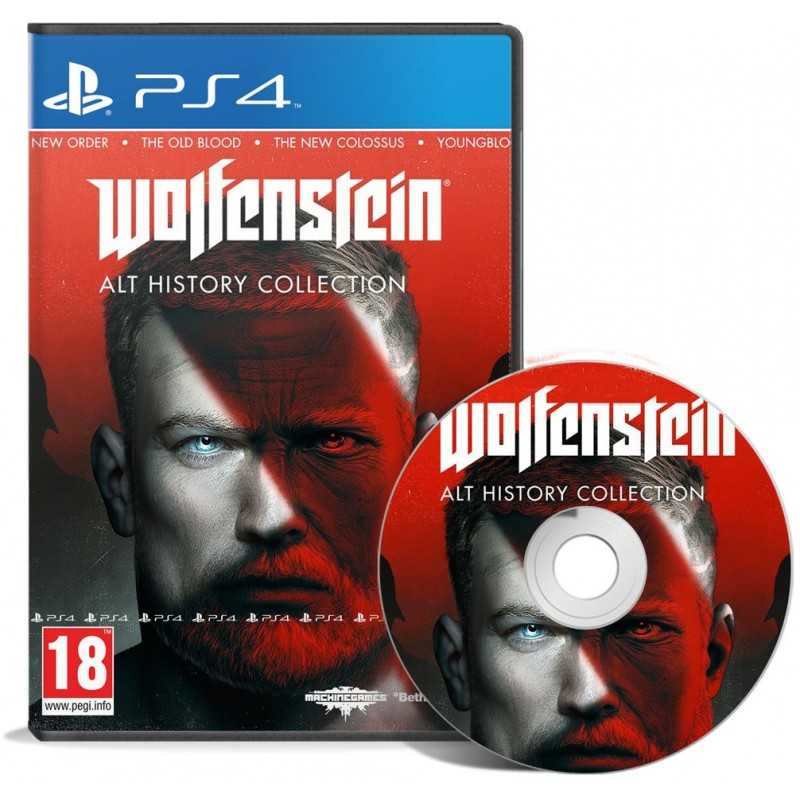 Wolfenstein: Alt History Collection PS4 - JEUX PS4 - gamezone