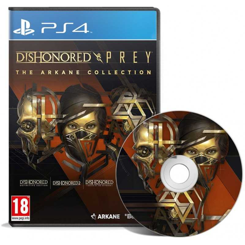 Dishonored & Prey : The Arkane Collection Edition Bundle PS4 - JEUX PS4 - gamezone