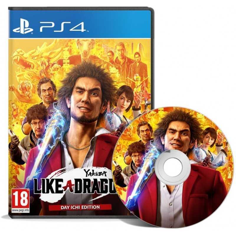 Yakuza Like a Dragon Day Ichi Edition PS4 - JEUX PS4 - gamezone