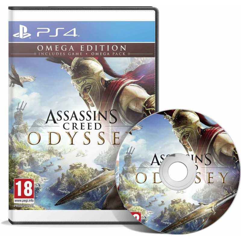 Assassin's Creed Odyssey - Omega Edition PS4 - JEUX PS4 - gamezone