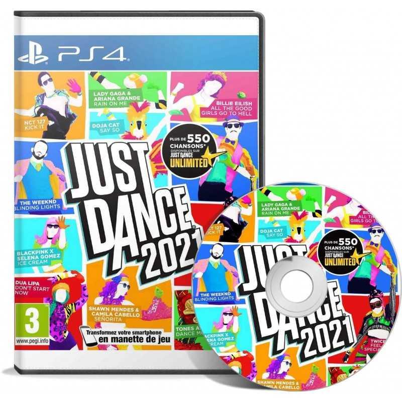Just Dance 2021 PS4 - Version PS5 incluse - JEUX PS4 - gamezone