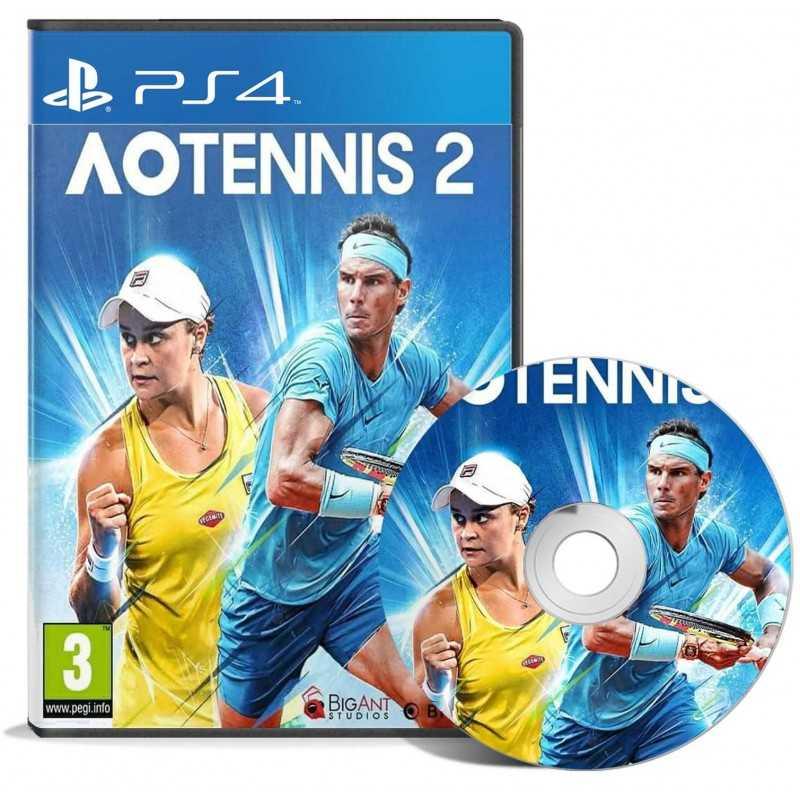 AO Tennis 2 PS4 - JEUX PS4 - gamezone