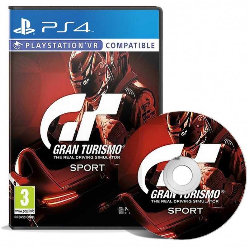 Gran Turismo Sport - PlayStation VR - JEUX PS4 - gamezone