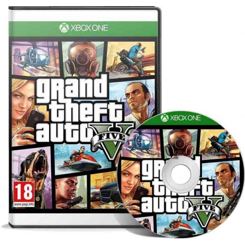 Grand Theft Auto V GTA 5 Xbox - JEUX XBOX ONE - gamezone
