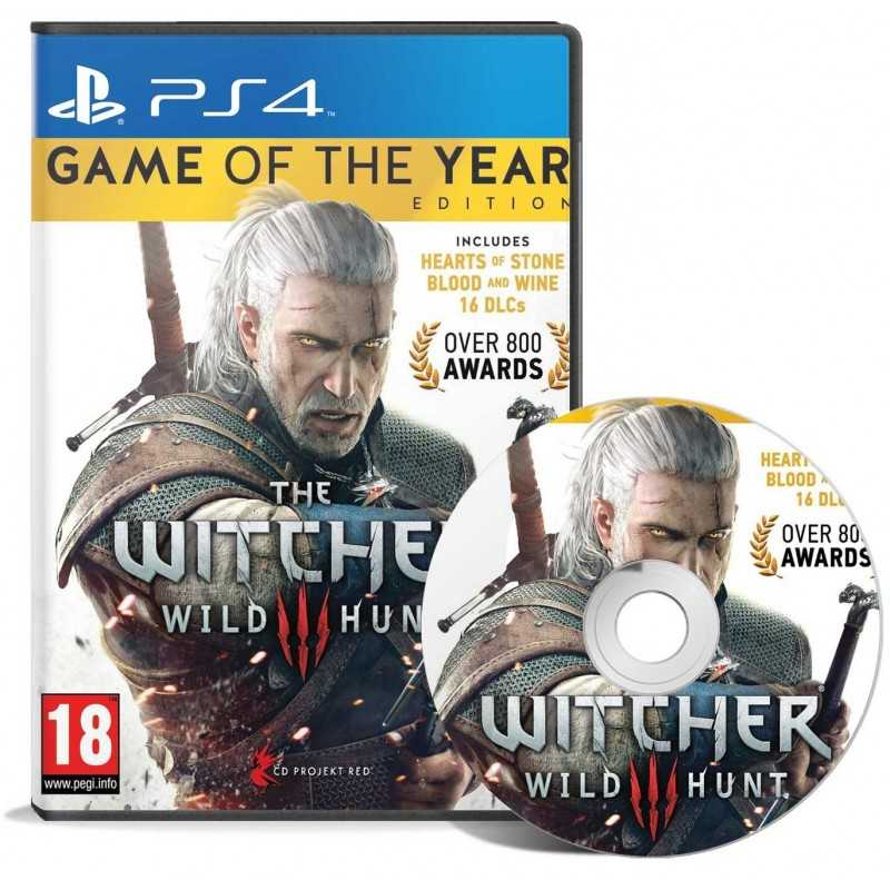 The Witcher 3 : Wild Hunt – Game Of The Year Edition - JEUX PS4 - gamezone