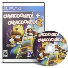 Overcooked + Overcooked 2 PS4 en Tunisie