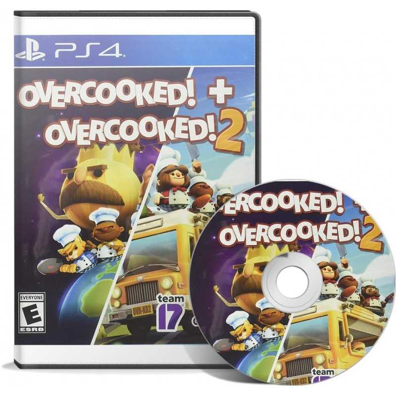 Overcooked + Overcooked 2 PS4 en Tunisie