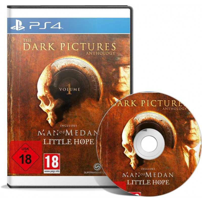 The Dark Pictures: Volume 1 PS4 - JEUX PS4 - gamezone