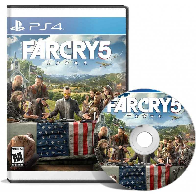 Far Cry 5 - JEUX PS4 - gamezone