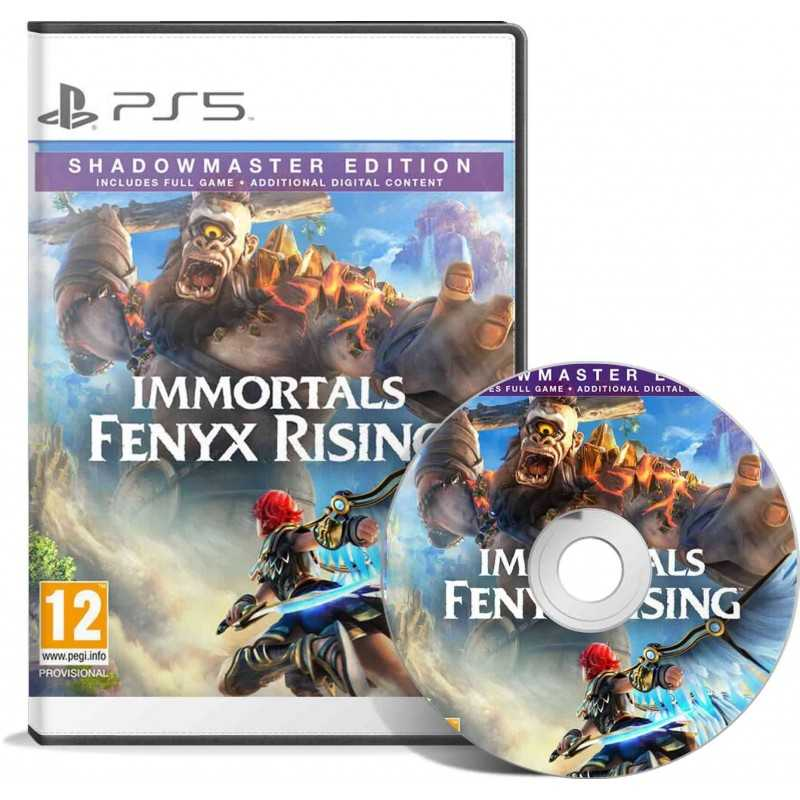 Immortals fenyx rising shadowmaster edition PS5 - JEUX PC - gamezone