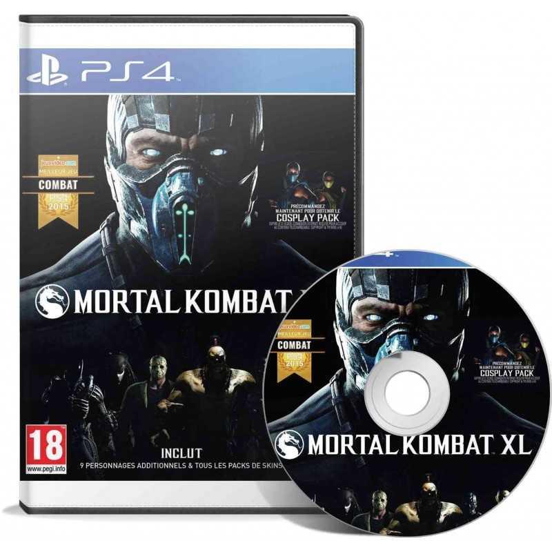 Mortal Kombat XL PS4 - JEUX PS4 - gamezone