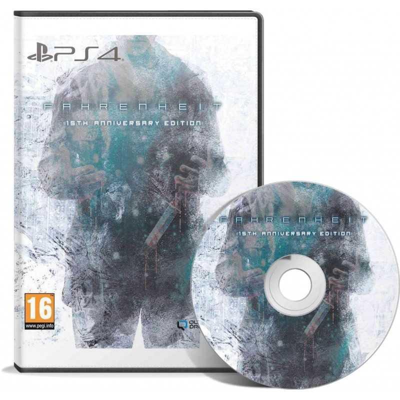 Fahrenheit 15th Anniversary Edition PS4 - JEUX PS4 - gamezone