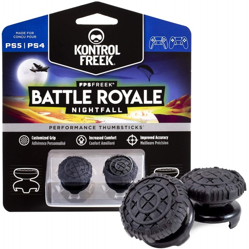 KontrolFreek FPS Freek Bataille Royale Nightfall pour Manette PlayStation 4 (PS4) et PlayStation 5 (PS5) - Accessoires - gamezone